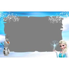 Greeting card Frozen F-001