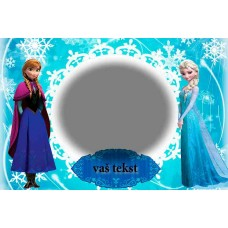 Greeting card Frozen F-003