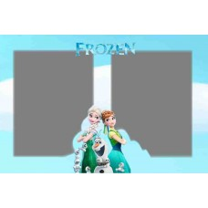 Greeting card Frozen F-004