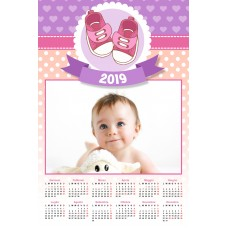 Single sheet calendar Sample 207