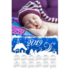 Single sheet calendar Sample 212