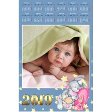 Single sheet calendar Sample 220