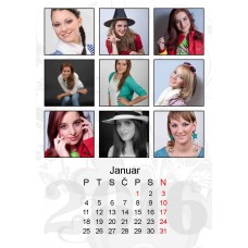 12-Sheet Calendar Sample 12P