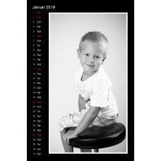 12-Sheet Calendar Sample 19P