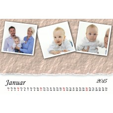 12-Sheet Calendar Sample 1L