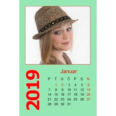 12-Sheet Calendar Sample 1PZ