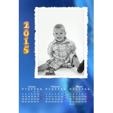 4-Sheet Calendar Sample 2P