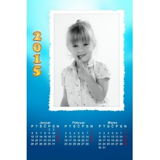 4-Sheet Calendar Sample 3P