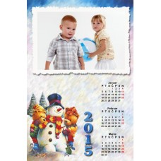 4-Sheet Calendar Sample 5P