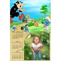 4-Sheet Calendar Sample 6P