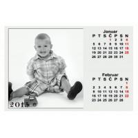 6-listni koledar Vzorec 1L