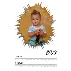 6-Sheet Calendar Sample 1P