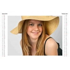 6-Sheet Calendar Sample 2L-B
