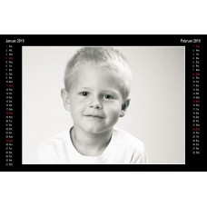 6-listni koledar Vzorec 2L