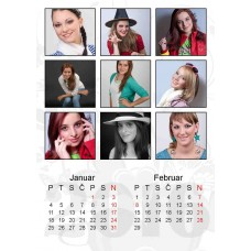 6-Sheet Calendar Sample 4P
