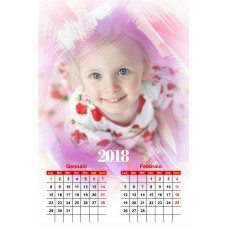 6-Sheet Calendar Sample 6P