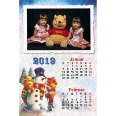 6-Sheet Calendar Sample 7P