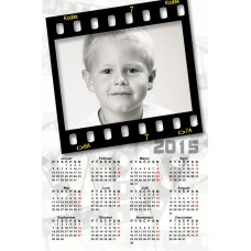 Single sheet calendar Sample 005