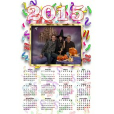 Single sheet calendar Sample 007