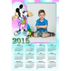 Single sheet calendar Sample 008