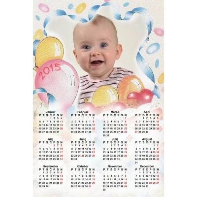 Enolistni koledar Vzorec 010 (1-010-02.008)