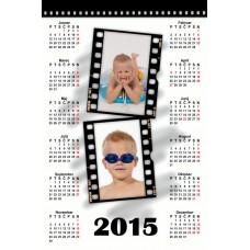 Single sheet calendar Sample 015