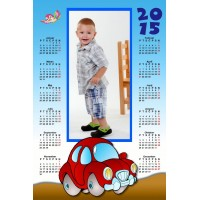 Single sheet calendar Sample 019