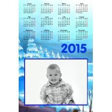 Single sheet calendar Sample 021