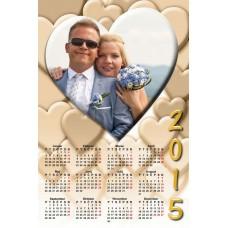 Single sheet calendar Sample 026