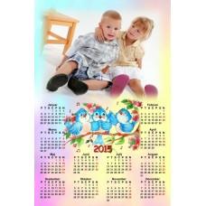 Single sheet calendar Sample 029