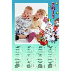 Single sheet calendar Sample 030