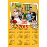 Enolistni koledar Vzorec 036