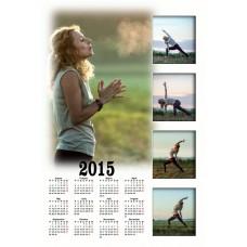 Enolistni koledar Vzorec 039