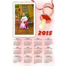 Enolistni koledar Vzorec 077