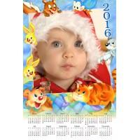 Enolistni koledar Vzorec 128