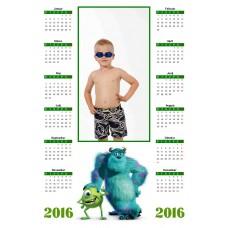 Enolistni koledar Vzorec 133