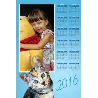 Enolistni koledar Vzorec 137