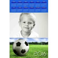 Enolistni koledar Vzorec 156