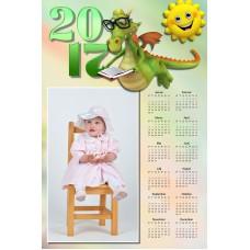 Enolistni koledar Vzorec 167