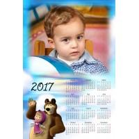 Enolistni koledar Vzorec 181