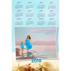 Enolistni koledar Vzorec 204