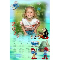 Single sheet calendar Sample 221