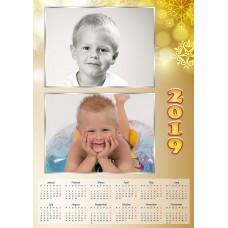 Single sheet calendar Sample 223