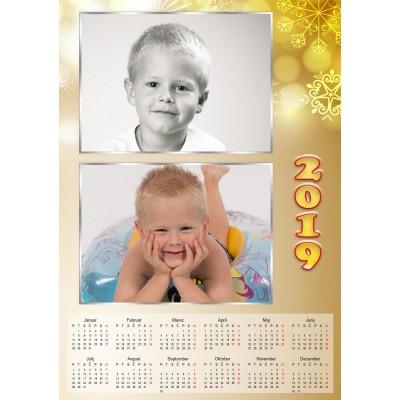 Enolistni koledar Vzorec 223 (1-223-modif)
