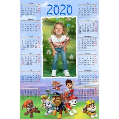 Enolistni koledar Vzorec 227 (1-227-modif)