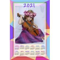 Enolistni koledar Vzorec 229