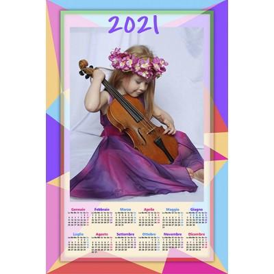 Enolistni koledar Vzorec 229 (1-229-22.016)