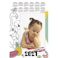 Enolistni koledar Vzorec 230