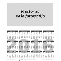 Žepni koledarček (set 25.kos)