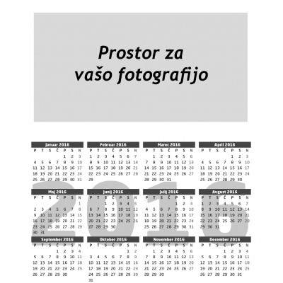 Žepni koledarček (set 25.kos) (7714000000027)